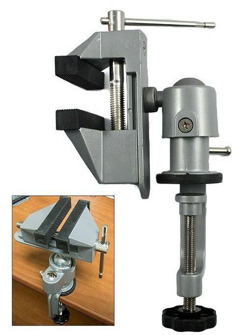universal table bench vise  work bench clamp swivel