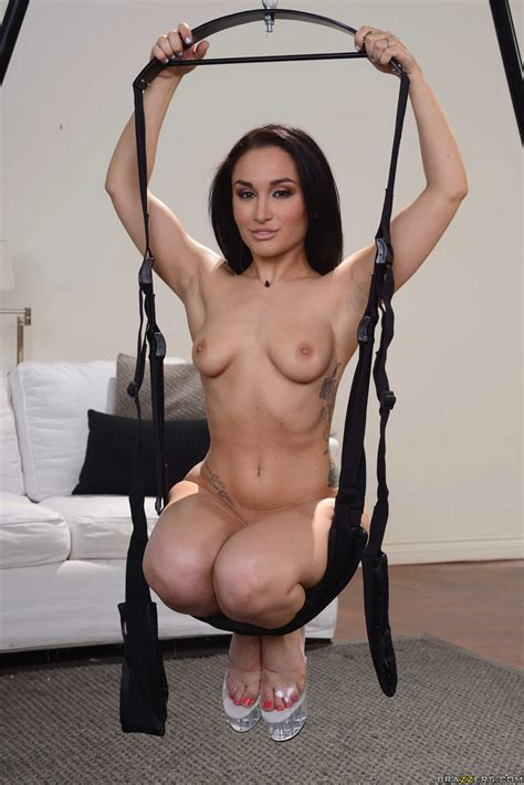 Sexy Brunette Likes Sex In The Swing Photos Gabriella