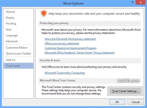 tip tweak microsoft office 2013 settings to improve your privacy askvg