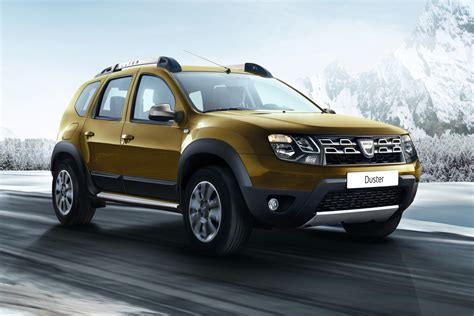 renault duster dacia duster édition 2016 to debut in frankfurt with added