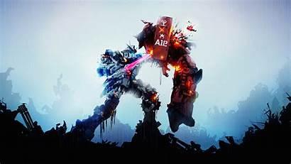 Gundam Robots Fight 4k Anime Wallpapers Background