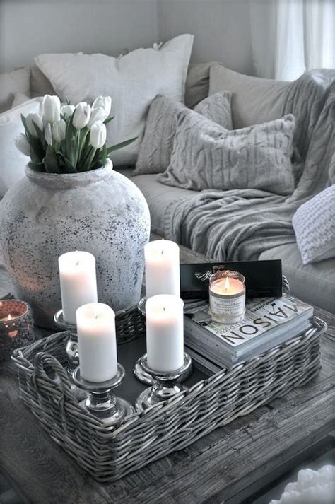 Coffee table decor is a nice way to update any living room. 29 Tips for a perfect coffee table styling - BelivinDesign
