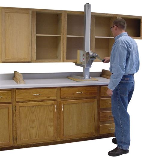 how to install base cabinets how to install kitchen cabinet hardware installing cabinet