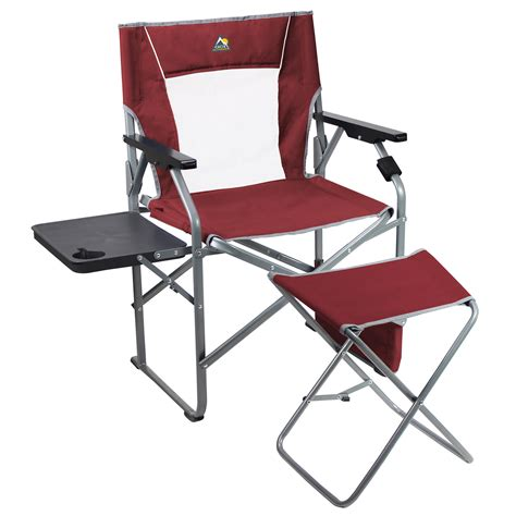 Gci Outdoor Directors Chair by Gci Outdoor 3 Position Director S Chair With Ottoman 46472 B H