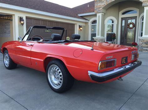 1973 Alfa Romeo by 1973 Alfa Romeo Spider Fantastic Condition