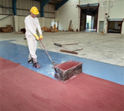 Resin flooring materials: resin floors and resin flooring