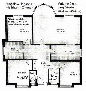 Bungalow Grundrisse 4 Zimmer : bungalow elegant 118 mit erker einfamilienhaus neubau massivbau grundriss stein auf stein ~ Eleganceandgraceweddings.com Haus und Dekorationen