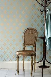 Farrow And Ball Tapeten : farrow ball ranelagh wallpaper ~ Michelbontemps.com Haus und Dekorationen