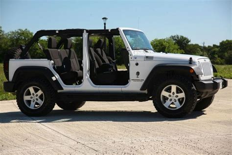 jeep wrangler unlimited sport top off white jeep wrangler unlimited with top and doors off