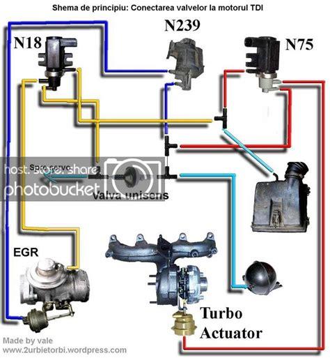 tdi turbo  egr vacuum system diagram mkiv mk golf