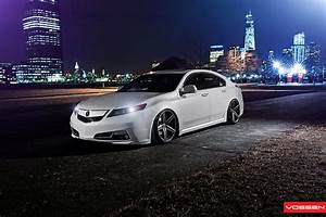 Vossen Dual Deep Concave On A 4th Gen Acura Tl