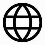 Language Icon International Globe Earth Browser Interface