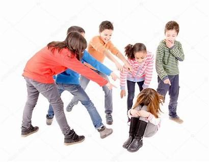 Bullying Kid Another Isolated Depositphotos Verkoka