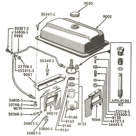 Ford Tractor Carburetor Diagram Wiring