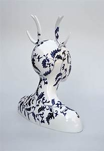Surreal ceramic and porcelain sculptures by juliette clovis for Porcelain sculptures by juliette clovis