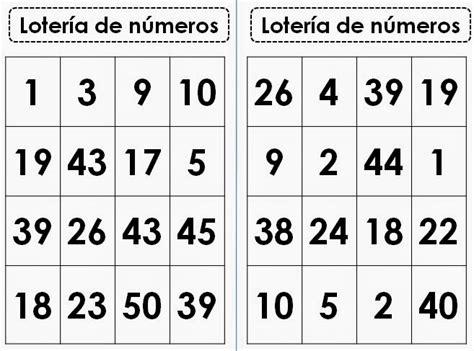 numeros de loteria para imprimir numeros de loteria para imprimir loterias de tablas de