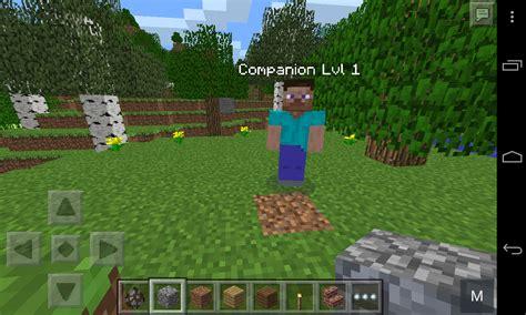 companion mod minecraft pe mods addons