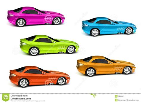 Pencil And In Color Five Clipart Car