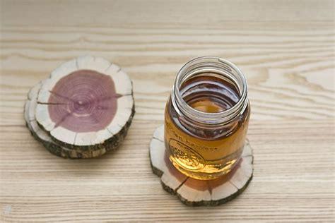 rustic  eco friendly diy wood coasters