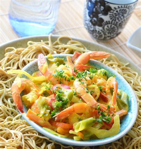 cours cuisine indienne crevettes et leurs légumes au lait de coco les