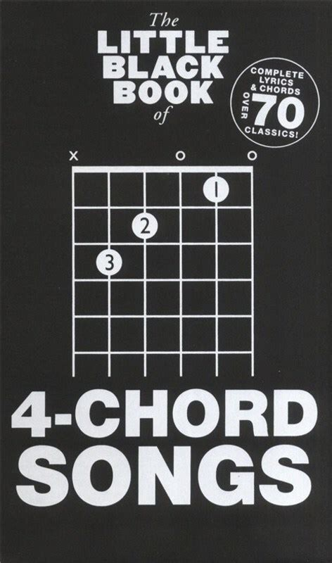 Like latin music, caribbean is a broad category that includes many different genres. The Little Black Book Of 4-Chord Songs Lyrics And Chords Book *New* Four, Guitar - Wise