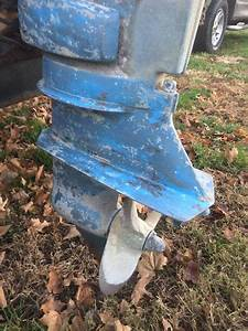 1978 25 Hp Johnson Outboard Motor