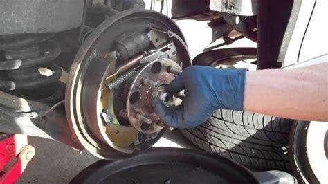 replace  rear wheel hub bearing   honda