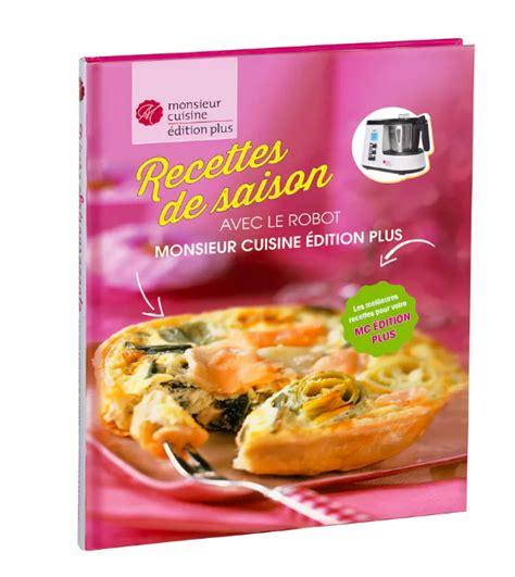 Livre De Recette Monsieur Cuisine Plus A Telecharger