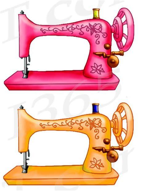 Sewing Clipart Sewing Machine Clipart Sewing Machine Clip Vintage