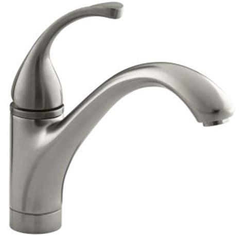 kohler k 10415 vs stainless single handle kitchen faucet