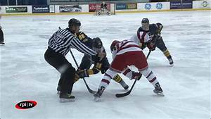RPI Men's Hockey vs. Quinnipiac - YouTube