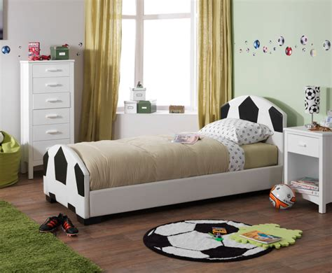 Football Bed by Portello Childrens Faux Leather Football Bed