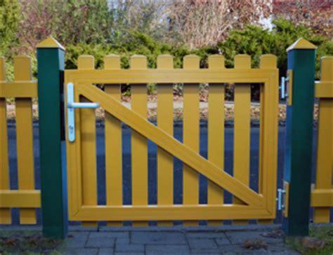 Gartenzaun Tor Holz by Alu Gartenzaun Aus Aluminium Pulverbeschichtet In Ral Farben