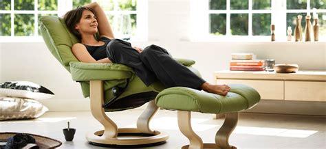 chaise longue en teck fauteuil stressless chelsea pour un moment de détente