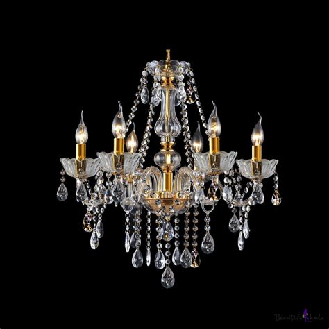 strands for chandeliers buy clear strands cascades 6 light