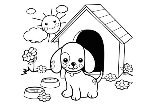 Kleurplaat Boomer Hondje by Pin Deze Kleurplaat Hondjes 6446 Kun Je Het Beste