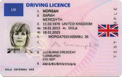 New Uk Driving Licence Information