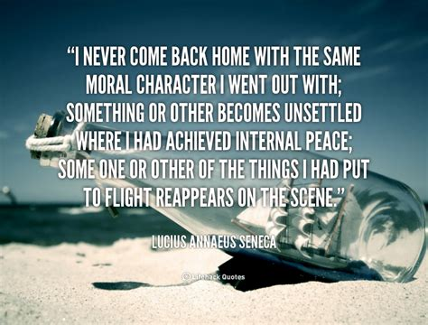 I Never Come Back Quotes