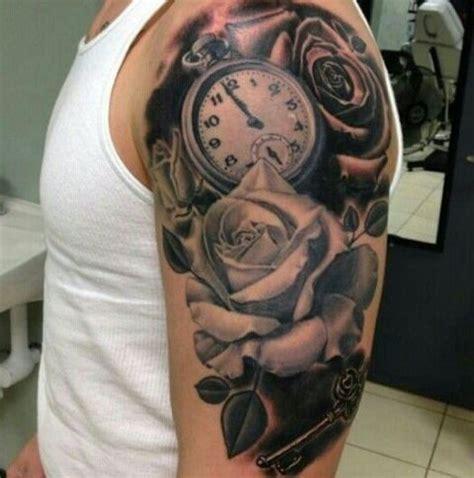 gorgeous clock tattoo ideas  men styleoholic