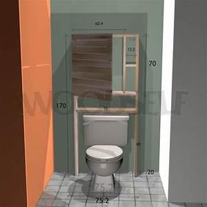 Plan De Toilette Bois : armoire sur toilettes woodself le site des plans de ~ Dailycaller-alerts.com Idées de Décoration