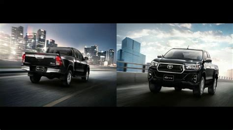 toyota hilux revo facelift rocco  minor change