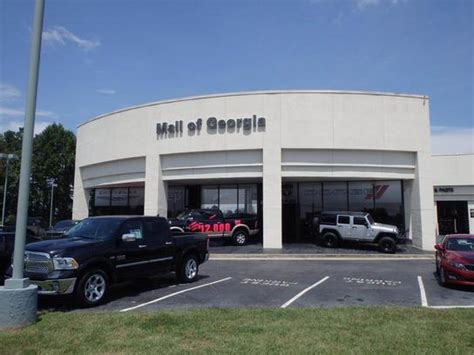 Chrysler Buford Ga by About Mall Of Chrysler Dodge Jeep Ram Car And