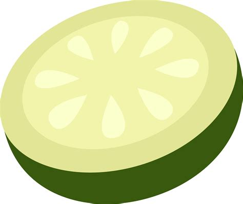 cucumber slice clipart cucumber slice vector free clip