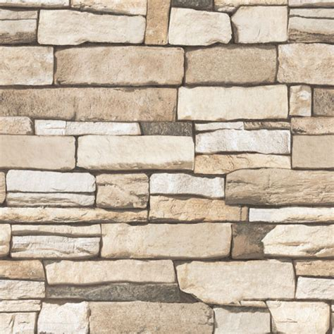 Brick Stone Pattern Vinyl Self Adhesive Wallpaper Roll