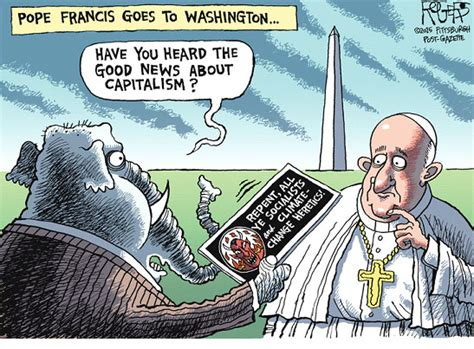 editorial cartoonists  pope   yale climate
