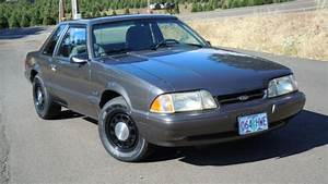 1992 Mustang 5.0 SSP Government Medium Titanium Low miles Fox Body Notch Police for sale: photos ...