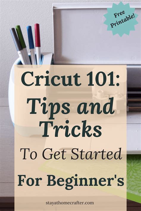 ultimate guide   cricut  beginners stay