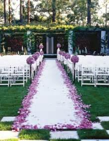 outdoor wedding aisle outdoor wedding aisle decorations weddingbee