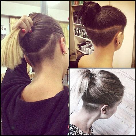image result for long hair with undercuts undercut