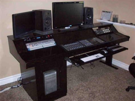 recording studio desk diy studio desk home furniture design